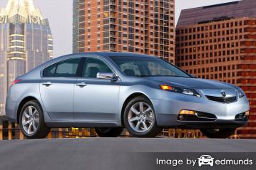 Insurance quote for Acura TL in Cincinnati