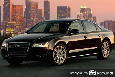 Insurance rates Audi A8 in Cincinnati
