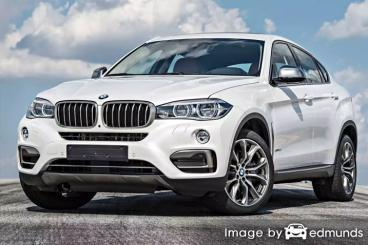 Insurance quote for BMW X6 in Cincinnati