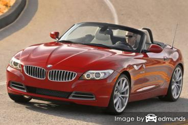 Insurance rates BMW Z4 in Cincinnati