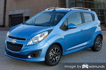Insurance rates Chevy Spark in Cincinnati