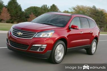 Insurance for Chevy Traverse