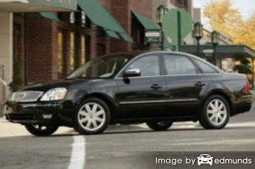 Insurance quote for Ford Five Hundred in Cincinnati