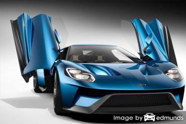 Insurance quote for Ford GT in Cincinnati