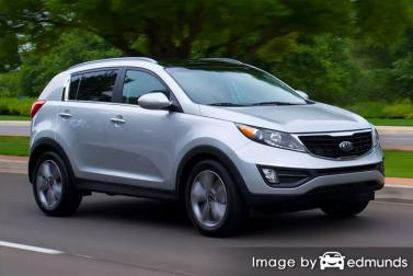 Insurance rates Kia Sportage in Cincinnati