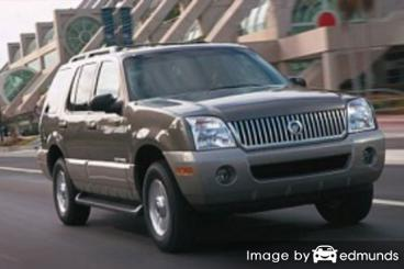 Insurance quote for Mercury Mountaineer in Cincinnati