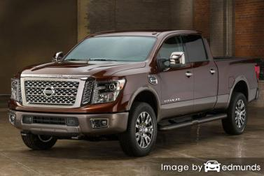 Insurance quote for Nissan Titan in Cincinnati