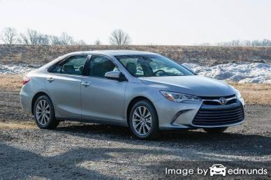 Insurance rates Toyota Camry in Cincinnati