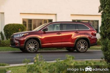 Insurance quote for Toyota Highlander in Cincinnati